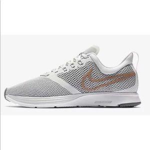 Nike women's running shoes size 10 NWT grey